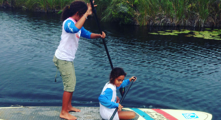 STAND UP PADDLE - SEMI PRIVATE SUP LESSONS - Kele Surf School